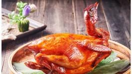 香烤树上鸡